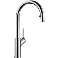 Смеситель для кухни с выдвижным изливом Blanco Carena-S 520767 фото