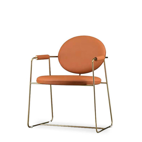 Стул-кресло Gemma by Baxter (терракотовый)