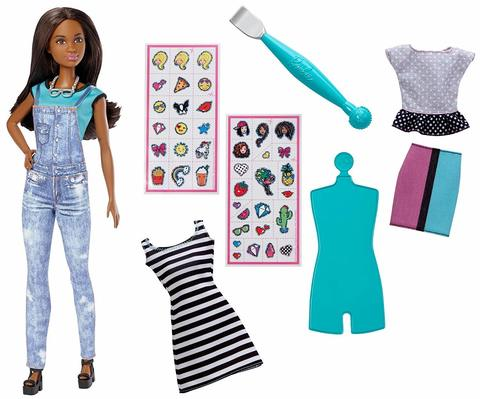 Кукла Барби Эмодзи брюнетка