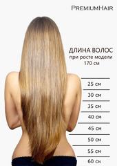 Славянские волосы на капсулах 25 пр.