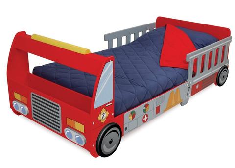 KidKraft Пожарная машина - детская кровать 76031_KE