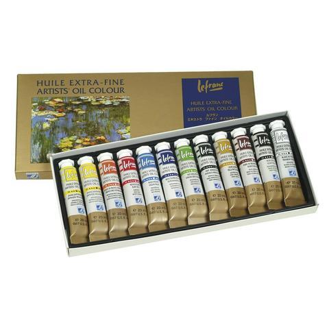 Набор масляных красок Lefranc&Bourgeois EXTRA FINE (12 х 20 мл)