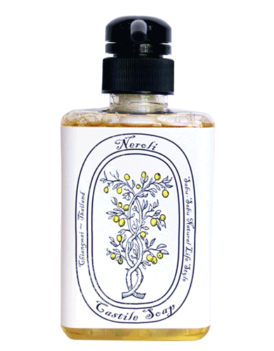 Жидкое мыло ручной работы из полевой коллекции с маслом нероли, Sabu-Sabu