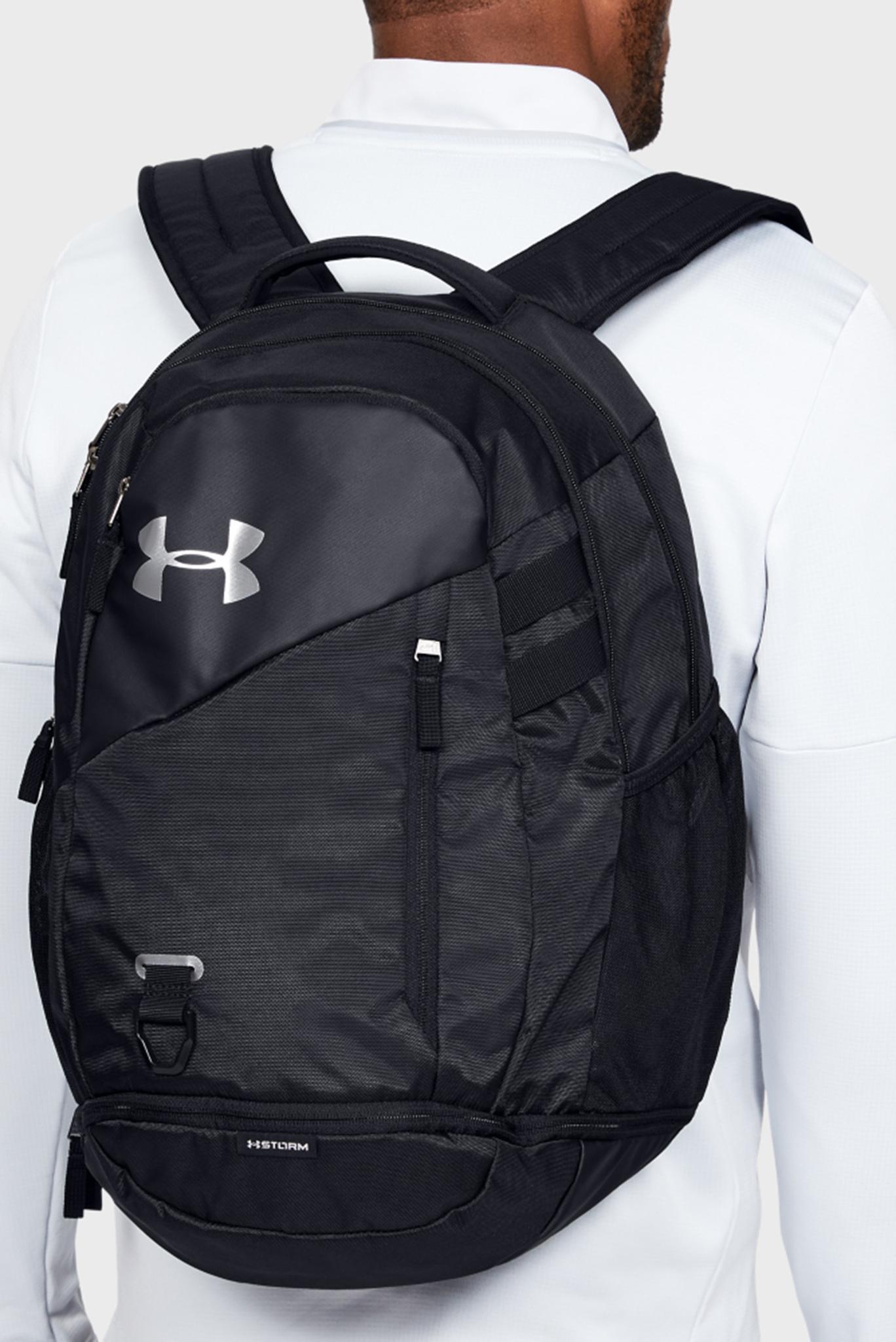 Черный рюкзак UA Hustle 4.0 Under Armour