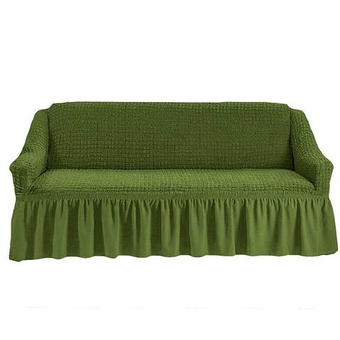 Чехол на четырехместный диван, изумруд