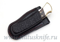 Чехол кожаный черный Buck 110