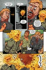 Космический Призрачный Гонщик уничтожает историю Marvel. Эксклюзивное издание для 28ой