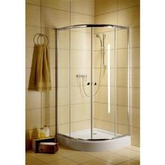 Душевой уголок с раздвижными дверьми 90х90х185 см Radaway Classic 30000-01-01 фото