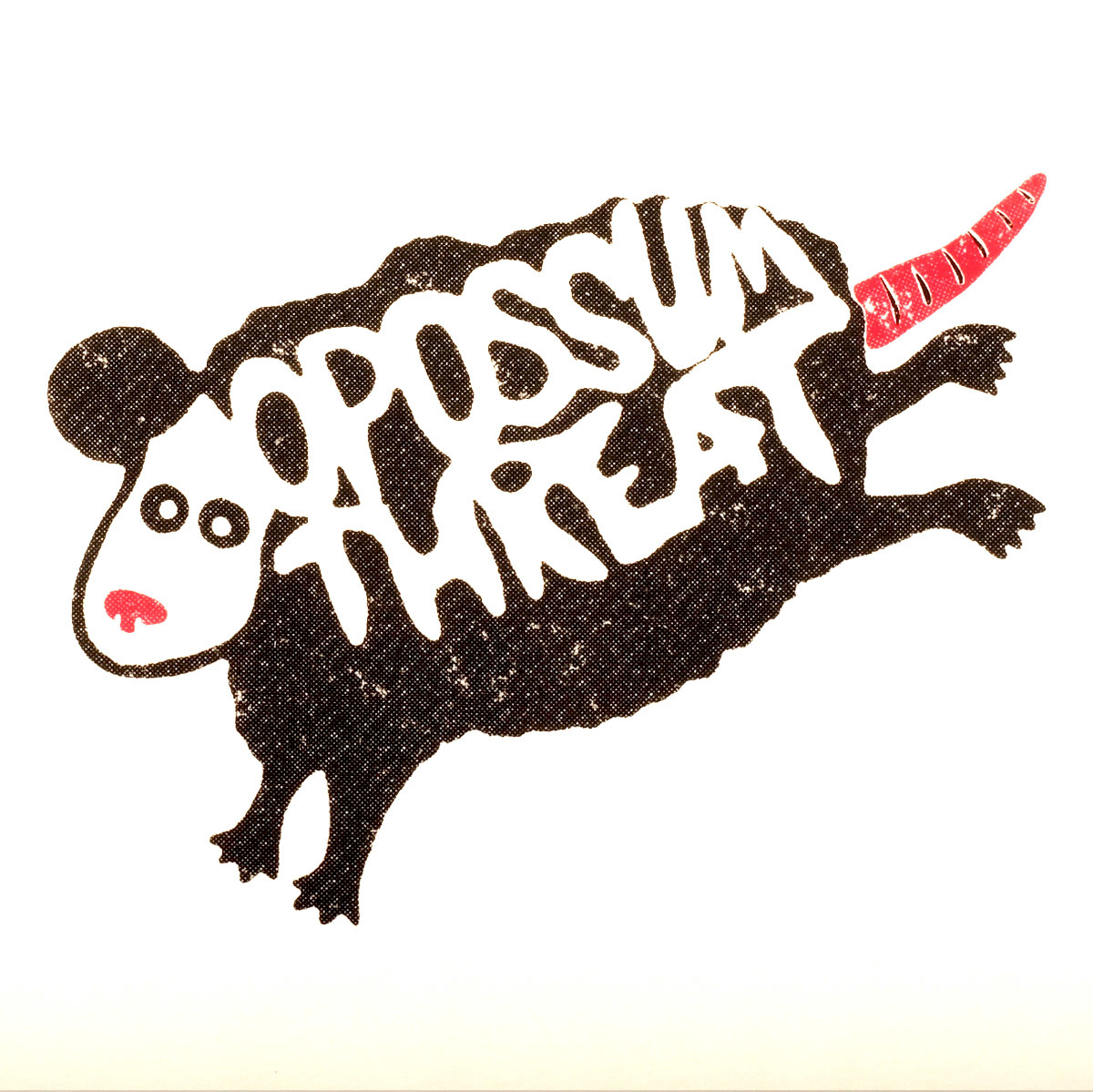 Opossum threat / футболка