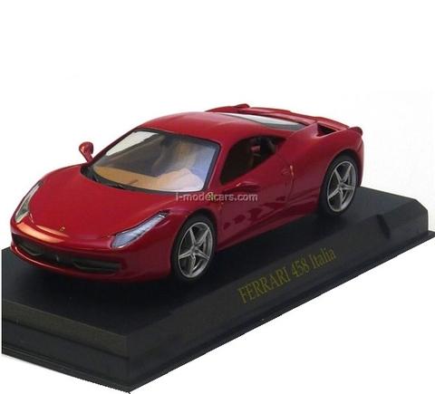 Ferrari 458 Italia red Eaglemoss 1:43