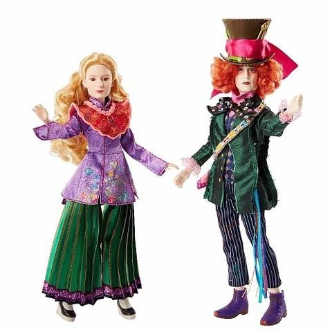 Алиса в Зазеркалье куклы коллекционные Алиса и Безумный Шляпник