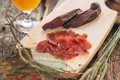 Вяленое мясо лося 50 грамм eco-apple.ru