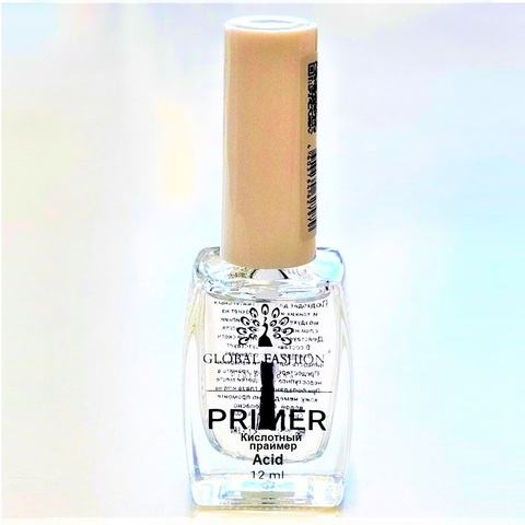 Кислотный праймер для ногтей  Global Fashion, 12 ml