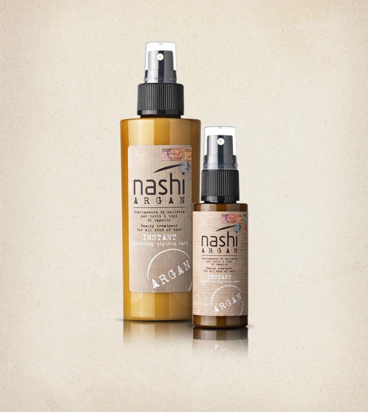 Маска для волос моментального увлажнения  Nashi Argan  150мл