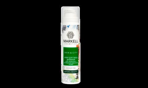 Markell Skin&City Крем для лица дневной для жирной и комбинированной кожи Снежный гриб 50мл