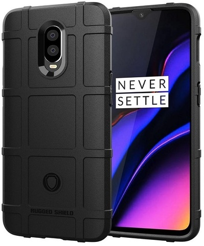 Чехол OnePlus 6T цвет Black (черный), серия Armor, Caseport