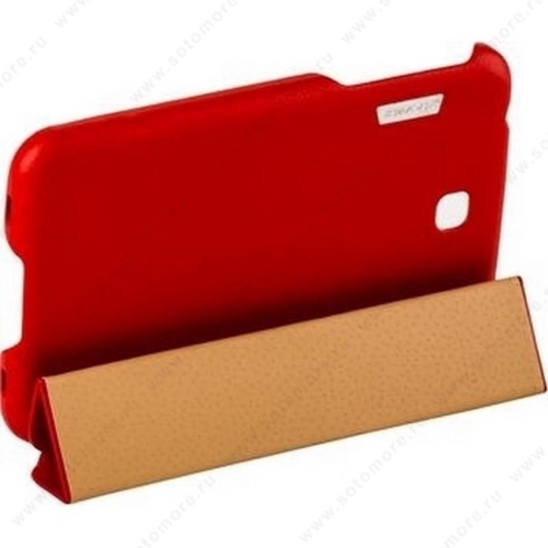 Чехол-книжка Jisoncase Executive для Samsung Galaxy Tab 3 7.0 SM-T2100/ SM-T2110 красный JS-S21-03H30