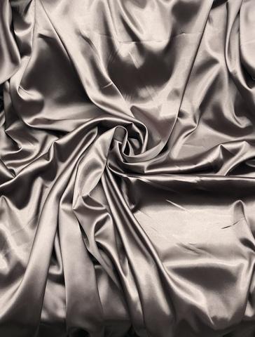 Ткань  атласная,  капучино