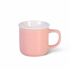 6071 FISSMAN Кружка 360мл, цвет Розовый (керамика)
