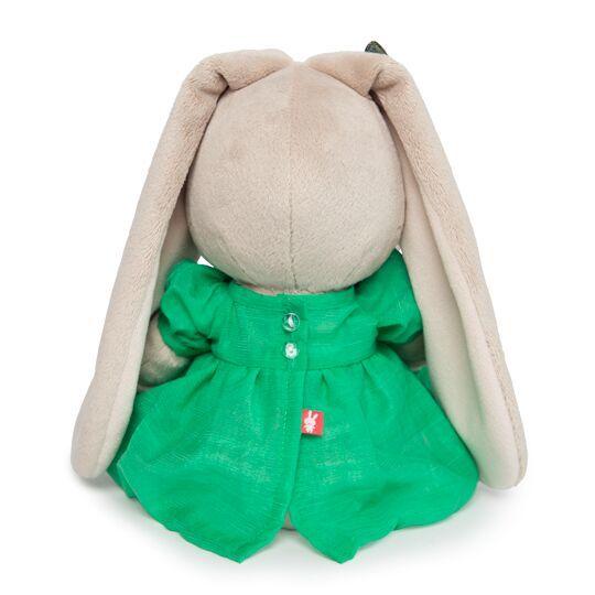 Зайка Ми в зеленом платье с бабочкой