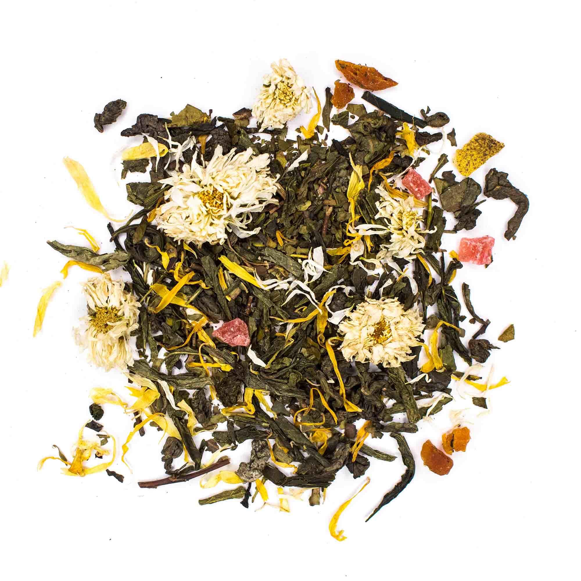 """Зеленый чай """"Улыбка Гейши"""" 100гр зеленый чай с добавками chayylubkageishi-teastar.jpg.jpg"""