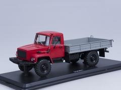 GAZ-33081 4x4 engine D-245.7 Diesel Turbo from Exhibition Start Scale Models (SSM) 1:43