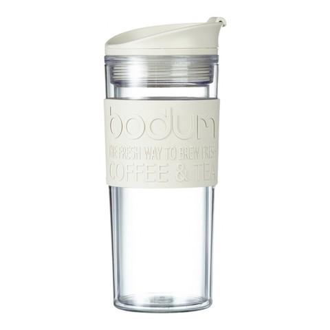 Кружка дорожная Bodum Travel (0,35 литра), белая