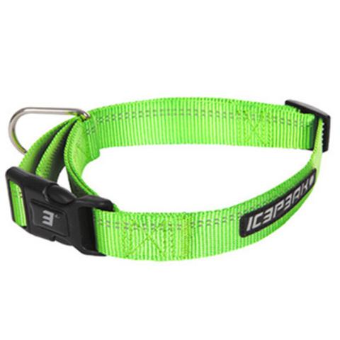 Ошейник неоновый зеленый ICEPEAK PET WINNER BASIC COLLAR,