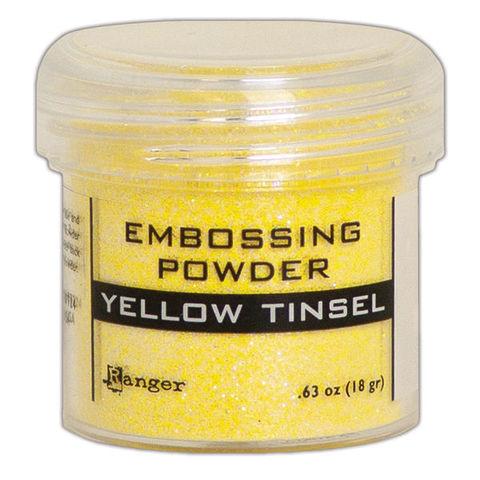 Пудра для эмбоссинга Ranger Ink- YELLOW TINSEL