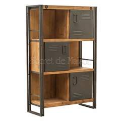 Шкаф Secret De Maison Сити (CITY) ( mod. CTY L03 ) — коричневый дым (smoke brown B034)
