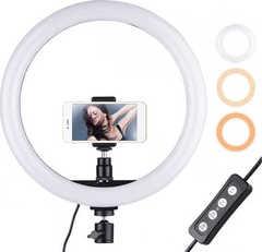 селфи кольцо светодиодный осветитель 26 см ring fill light control