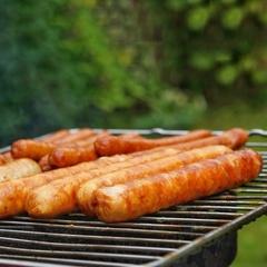 Колбаски для жарки и барбекю ОСТРЫЕ (свинина+говядина) / 500 г