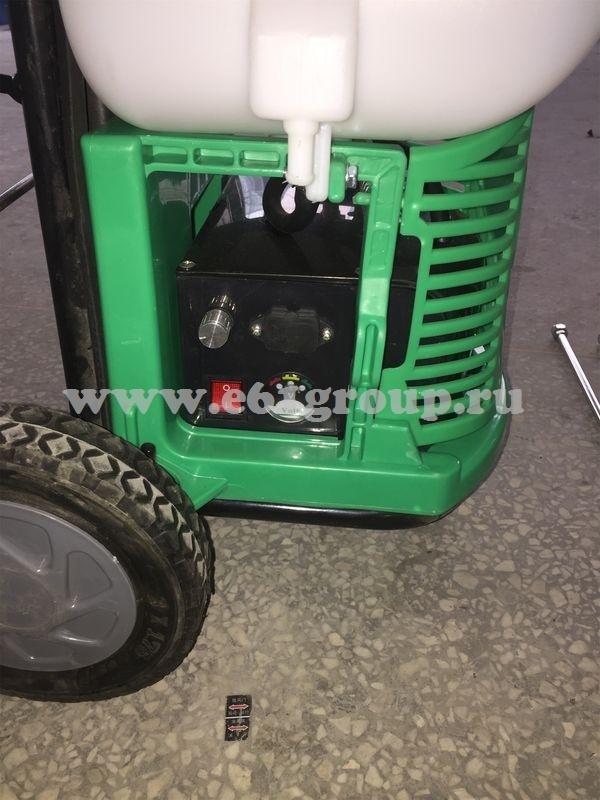 Опрыскиватель электрический на колесах Комфорт (Умница) YY-20SW с регулятором мощности стоимость
