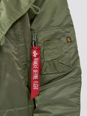 Парка Alpha Industries N-3B Regular Fit Sage Green (Зеленая)