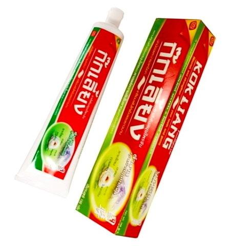 Травяная зубная паста KOKLIANG, 40 гр. Таиланд