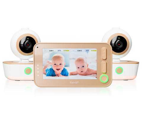 Видеоняня Ramili Baby RV1300 с двумя камерами