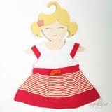 Комплект детских Вешалок плечиков Девочки 30 см
