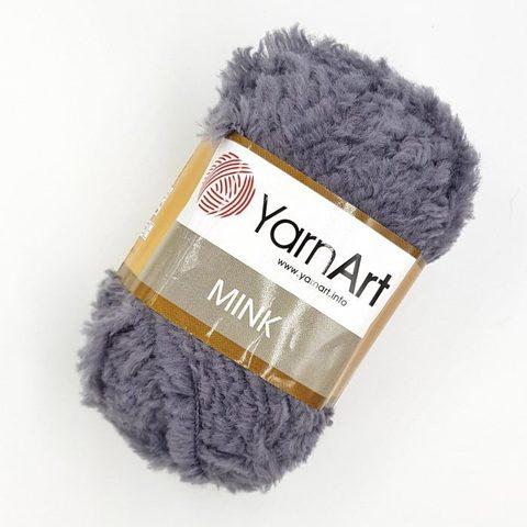 Пряжа YarnArt Mink - (335-серый)