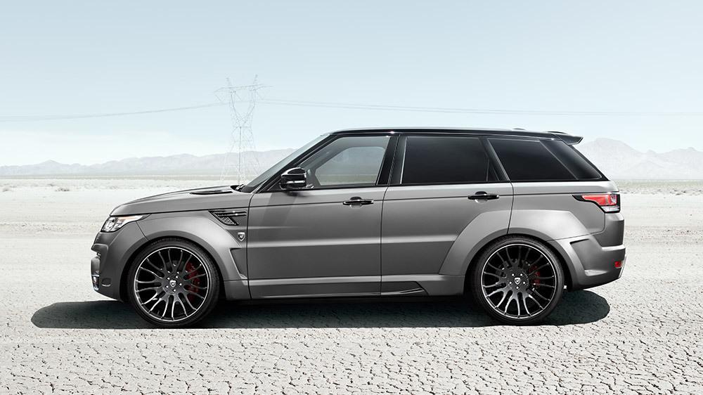 Обвес Hamann для Range Rover Sport Widebody