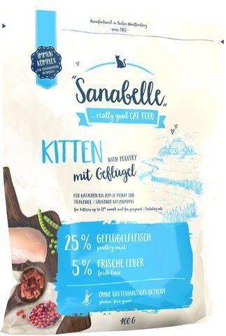 Sanabelle Kitten сухой корм для котят 0,4 кг