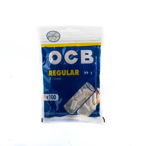 Фильтры для самокруток OCB Regular 7.5 100шт