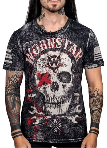 Футболка Wornstar DEATH MECHANIC TEE