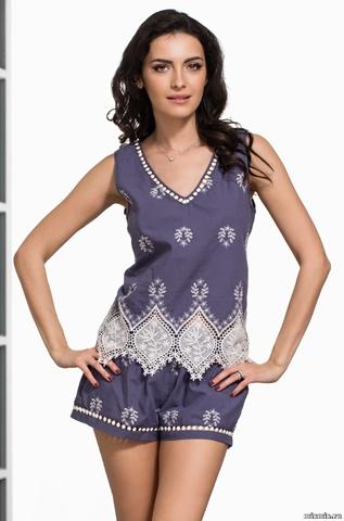 Пижама женская хлопковая  Mia-Amore MARSELL Марсель 6392