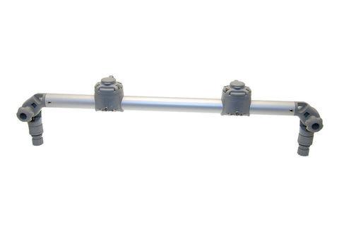 Тарга с двумя замками Gr610-2FMr232, 610 мм, серая