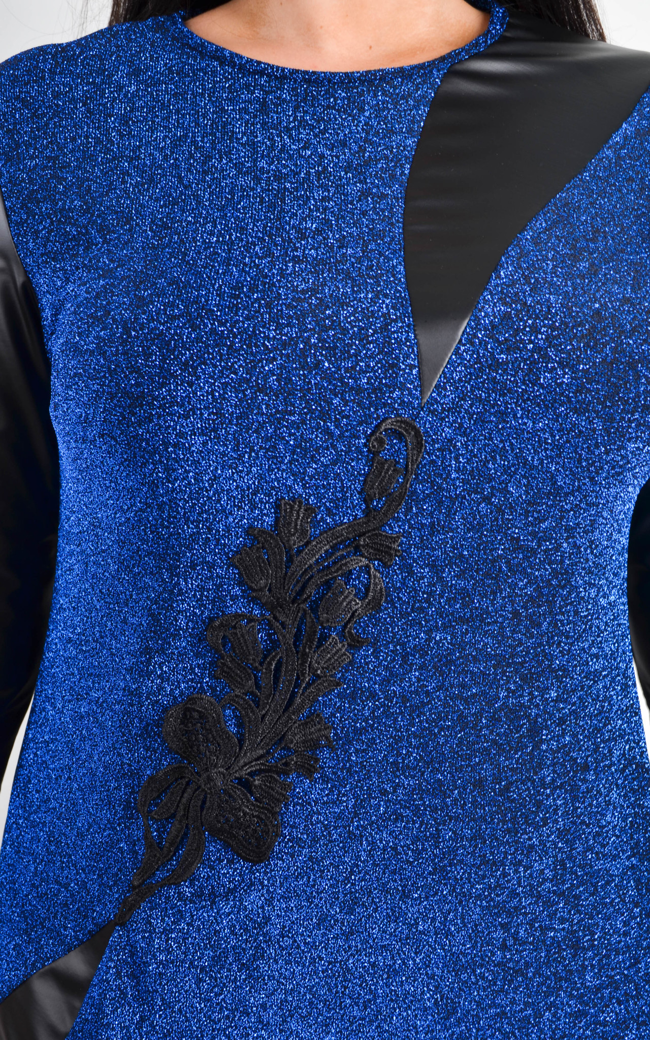 Нарядное платье Гала (электрик)