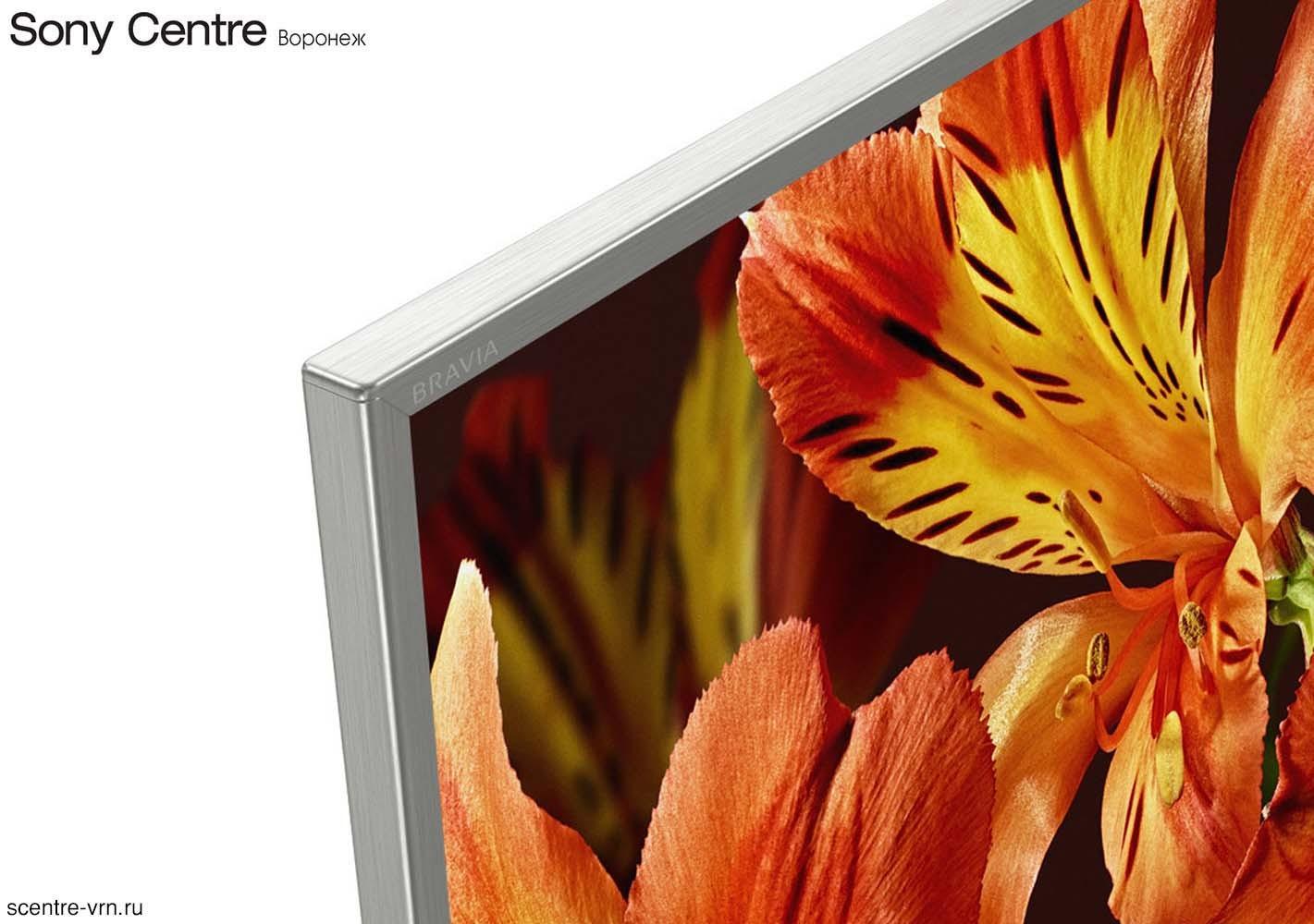Купить Sony KD-49XF8577 серебристый в Sony Centre Воронеж