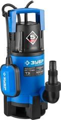 ЗУБР Профессионал НПГ-Т3-900, дренажный насос для грязной воды, 900 Вт