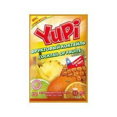 Растворимый напиток Yupi Фруктовый Коктейль 15гр. (блок 24 шт)