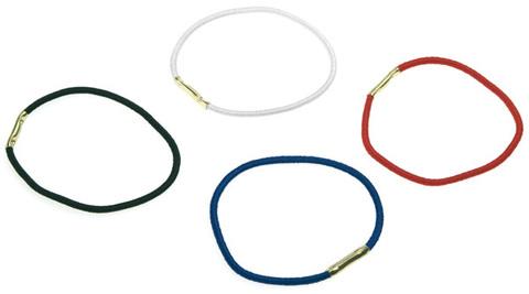 Резинки для волос (диаметр 45мм) цветные металлик