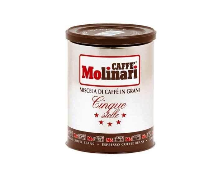 Кофе в зернах Molinari CINQUE STELLE, 250 г